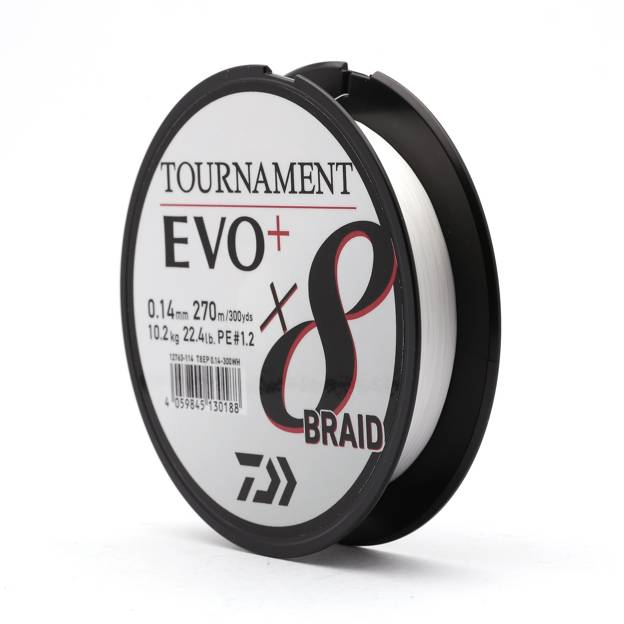 12763 - DAIWA PLECIONKA TOURNAMENT X8 BRAID EVO+ 135m