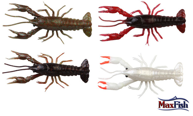 47103 - SAVAGE GEAR 3D CRAYFISH 8cm BLACK BROWN