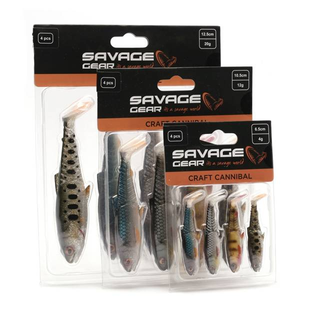 71831 - SAVAGE GEAR GUMA CRAFT CANNIBAL CLEAR WATER MIX 10,5cm