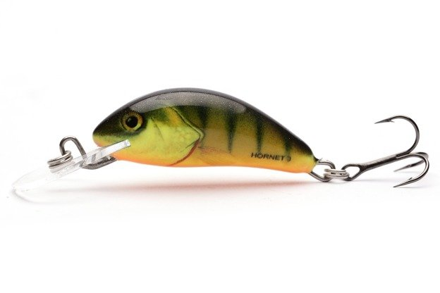 QHT009 - SALMO WOBLER HORNET FLOATING 3,5cm- HOT PERCH