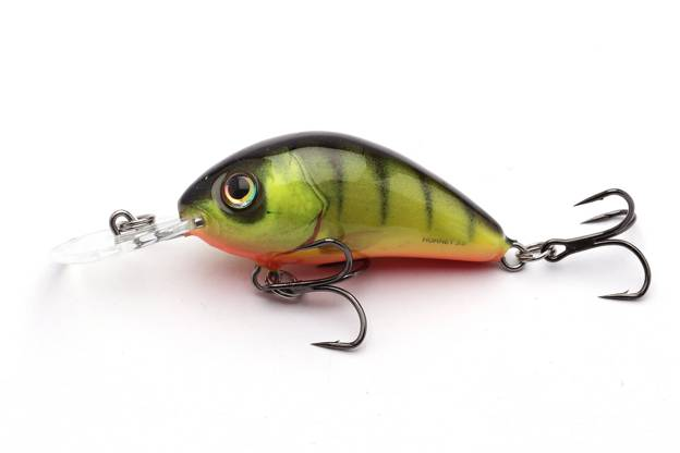 QHT025 - SALMO WOBLER HORNET FLOATING 4cm- HOT PERCH
