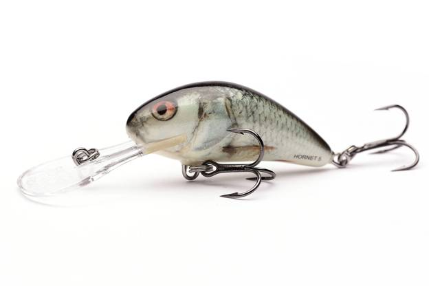 QHT032 - SALMO WOBLER HORNET FLOATING 4cm- REAL DACE