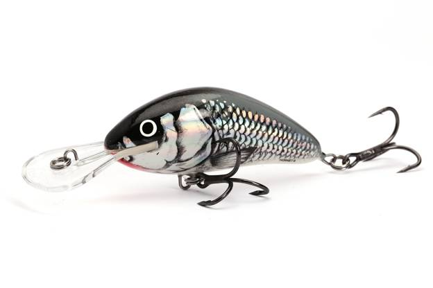 QHT047 - SALMO WOBLER HORNET FLOATING 5cm- HOLOGRAPHIC GREY SHINER