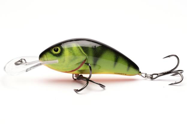 QHT073 - SALMO WOBLER HORNET FLOATING 9cm- HOT PERCH