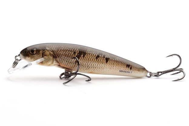 QMW043 - SALMO WOBLER MINNOW F 7cm-WOUNDED DACE