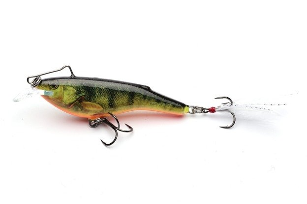 QRB003 - SALMO WOBLER RAIL SHAD S - SUPERNATURAL HOT PERCH 6cm