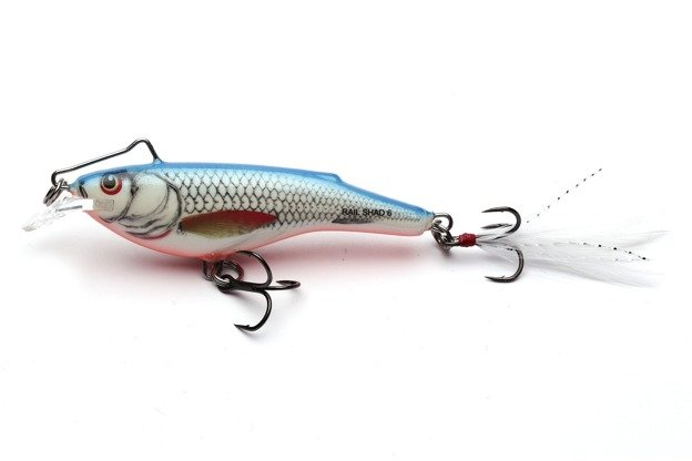 QRB005 - SALMO WOBLER RAIL SHAD S - DACE BLUE 6cm