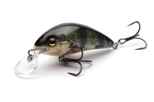 QRH454 - SALMO WOBLER RATTLIN HORNET SHALLOW 3,5cm-SUPERNATURAL PERCH