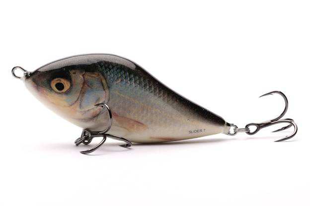 QSD029 - SALMO WOBLER SLIDER SINKING 10cm - REAL ROACH