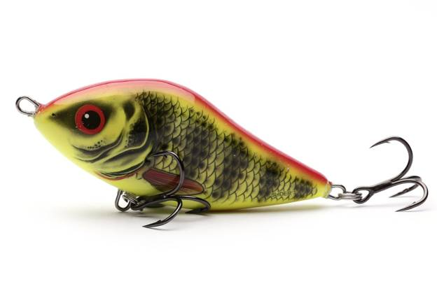 QSD321 - SALMO WOBLER SLIDER SINKING 10cm - BRIGHT PERCH