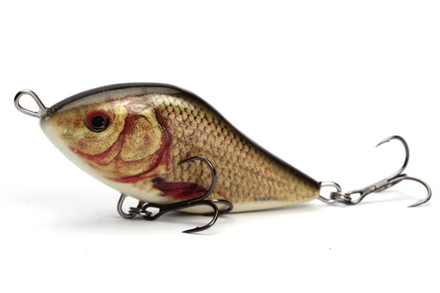 QSD345 - SALMO WOBLER SLIDER FLOATING 12cm - SN GOLDEN CRUCIAN