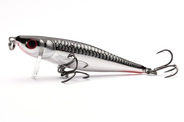 QTH005 - SALMO WOBLER THRILL S 5cm - SILVER FLASHY FISH