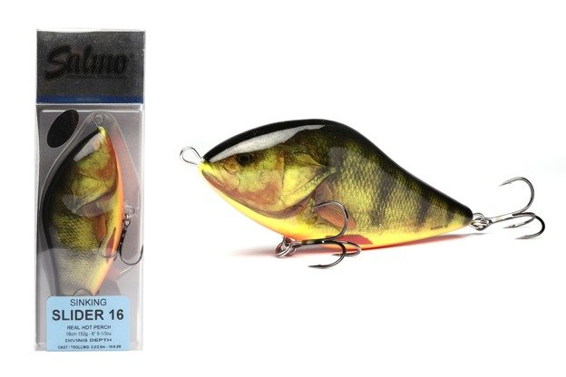 SD-160-SI-RHP - SALMO WOBLER SLIDER SPECIAL EDITION - 16cm