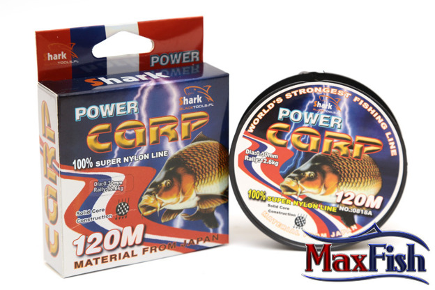 ZSC010- SHARK ŻYŁKA POWER CARP 0,10 mm 120 m