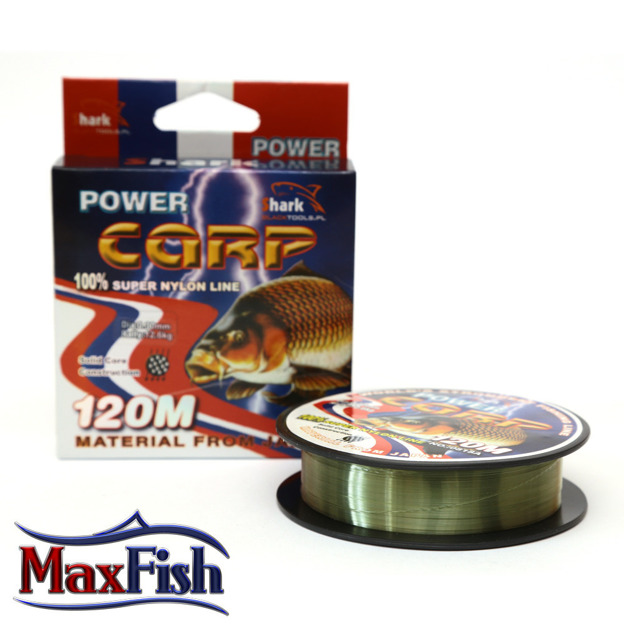 ZSC012- SHARK ŻYŁKA POWER CARP 0,12 mm 120 m