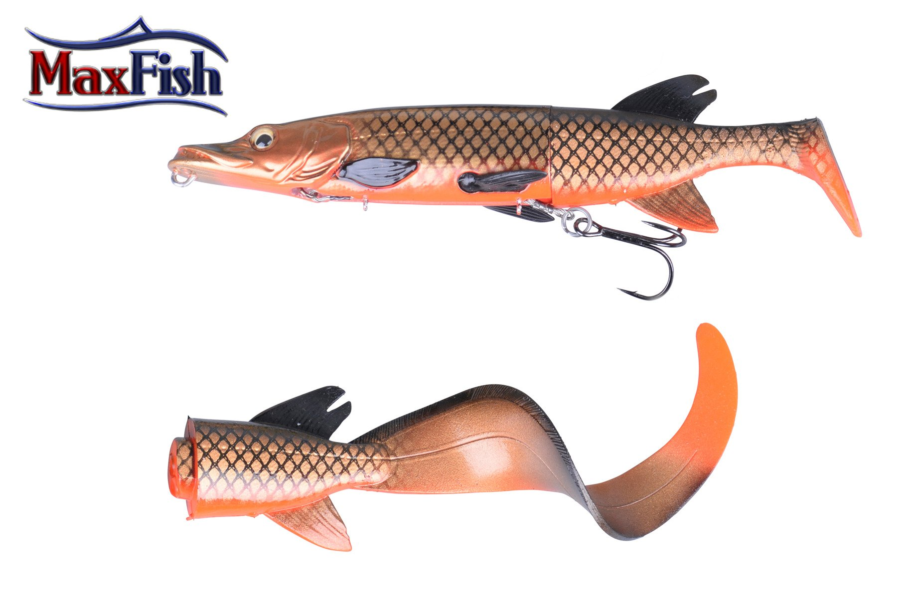 Savage Gear 3D Hybride Pike - 17cm 45g  Red Copper