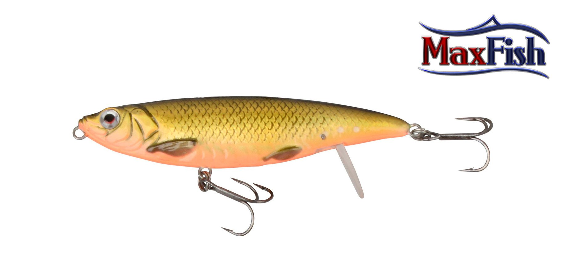 Savage Gear 3D Backlip Herring - Gold/Black 10cm 19g