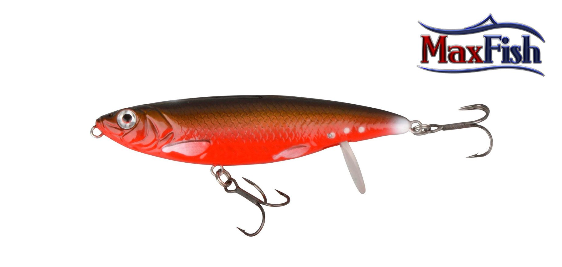 Savage Gear 3D Backlip Herring - Red/Black 10cm 19g
