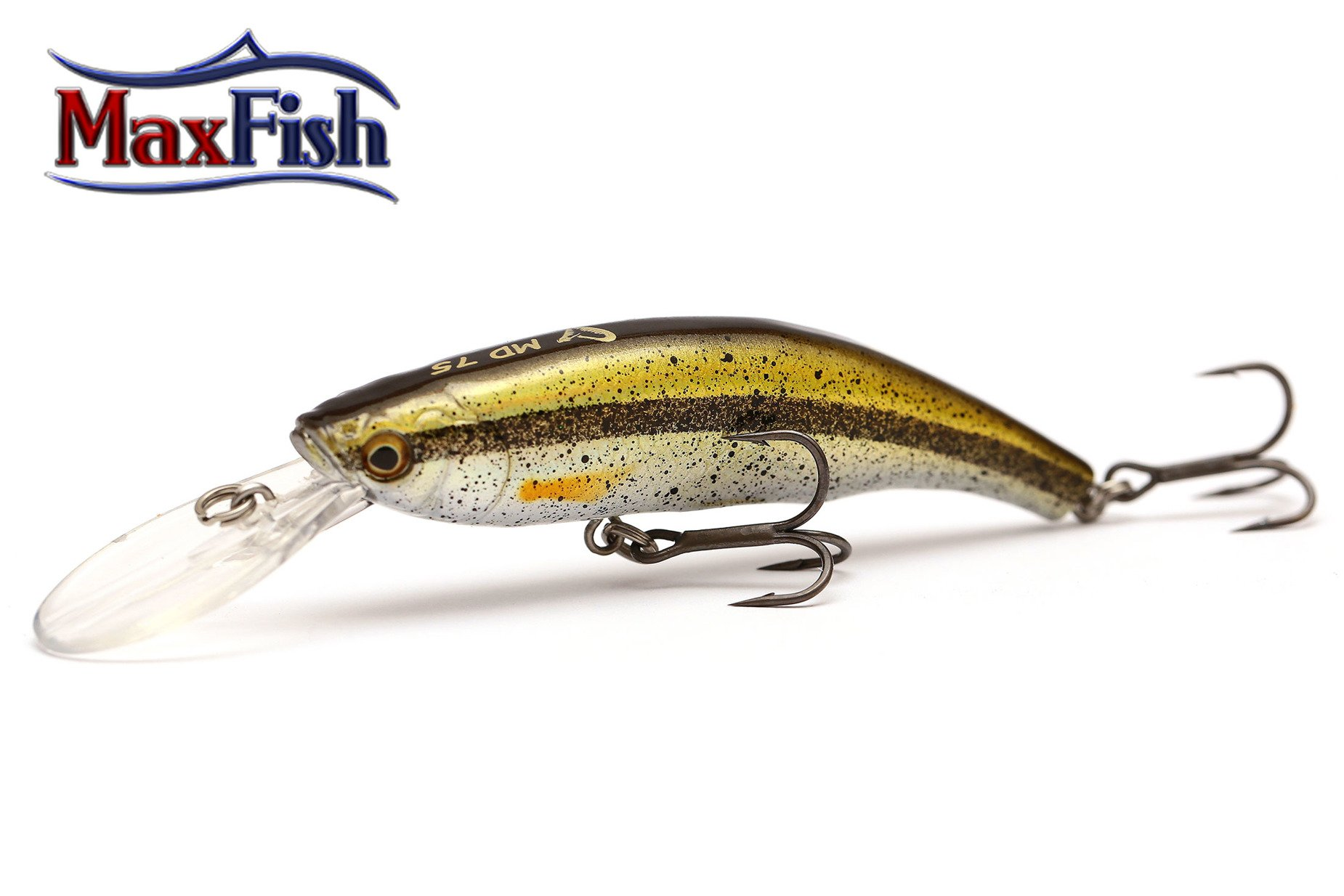 Savage Gear 3d Minnow Diver - Ghost Silver 7.5 cm