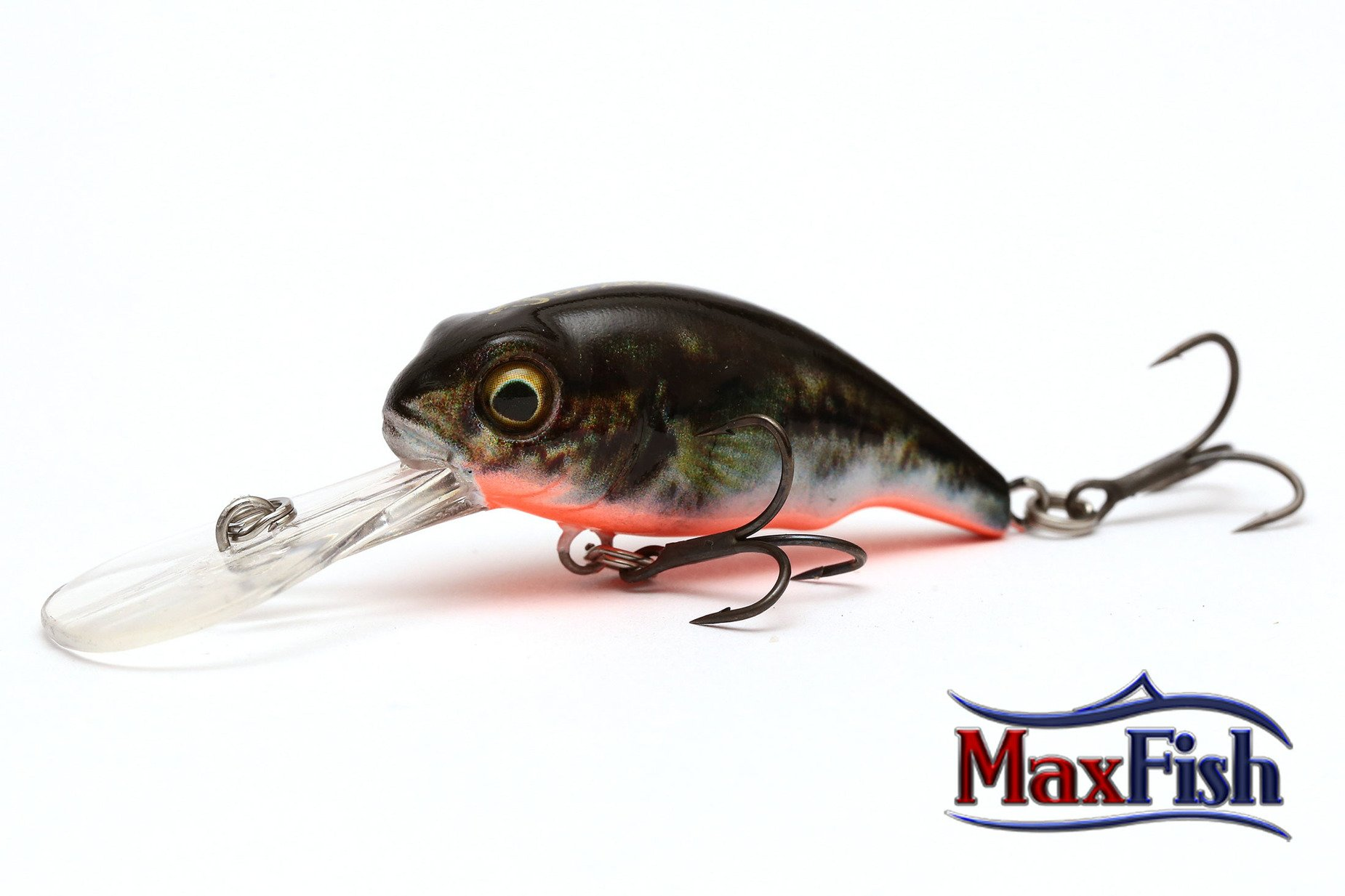 Savage Gear 3d Goby Crank - Uv Red/black 4.0cm 3.5g