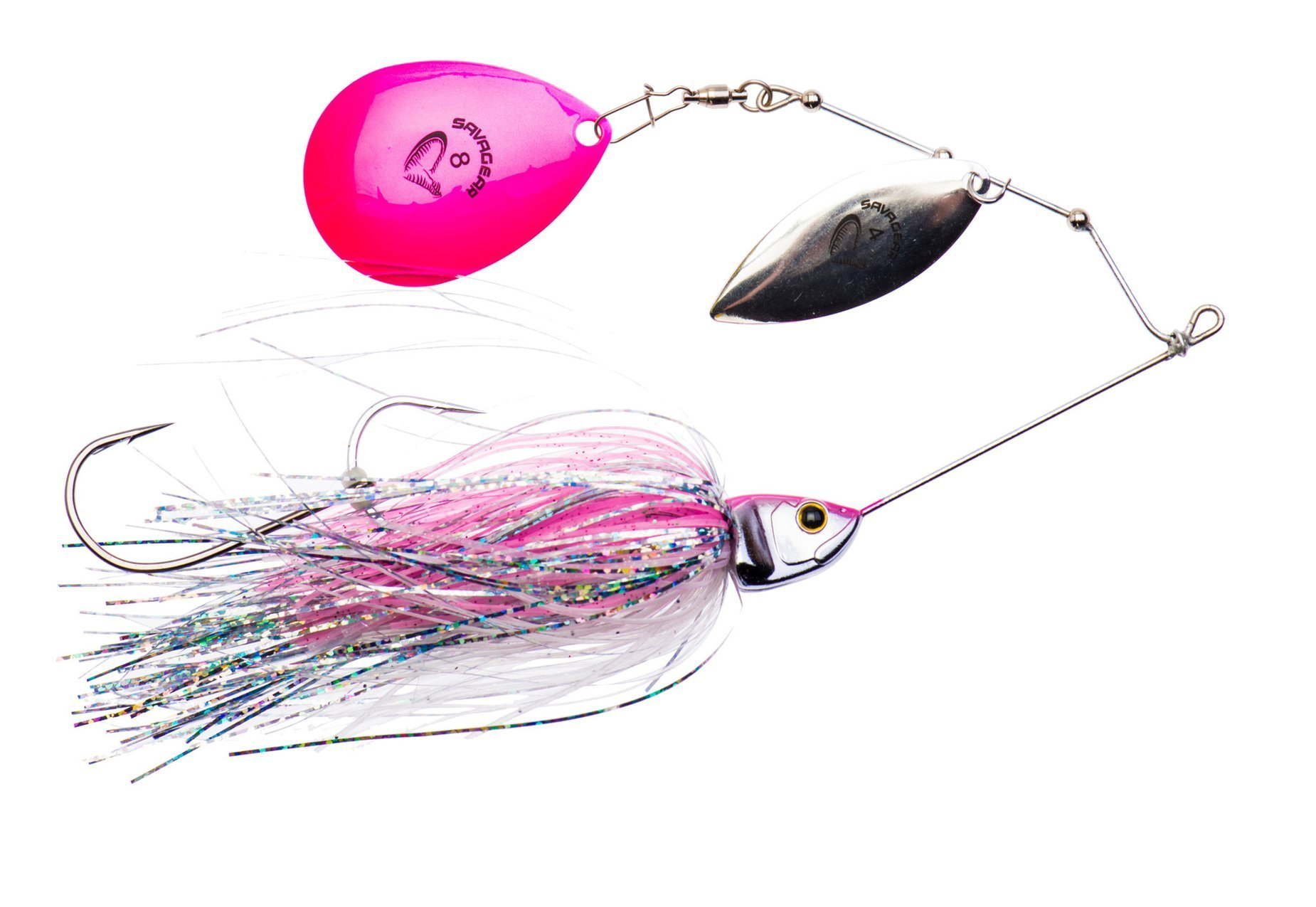 Savage Gear Da Bush Spinnerbait - Pink Flash 18cm 42g