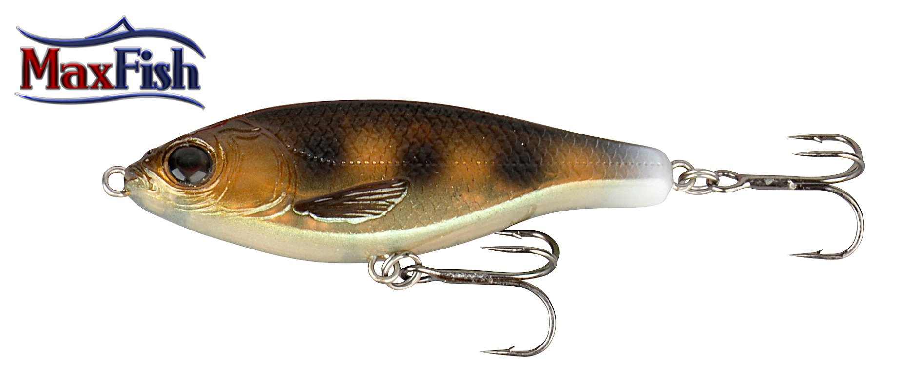 Savage Gear 3D Roach Jerkster - Ghost Goby 6.3cm 8g