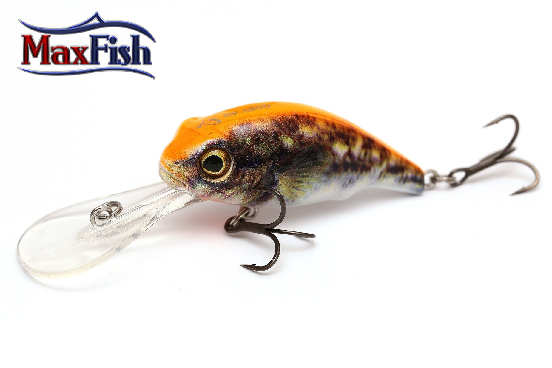 Savage Gear 3d Goby Crank - Uv Orange 4.0cm 3.5g