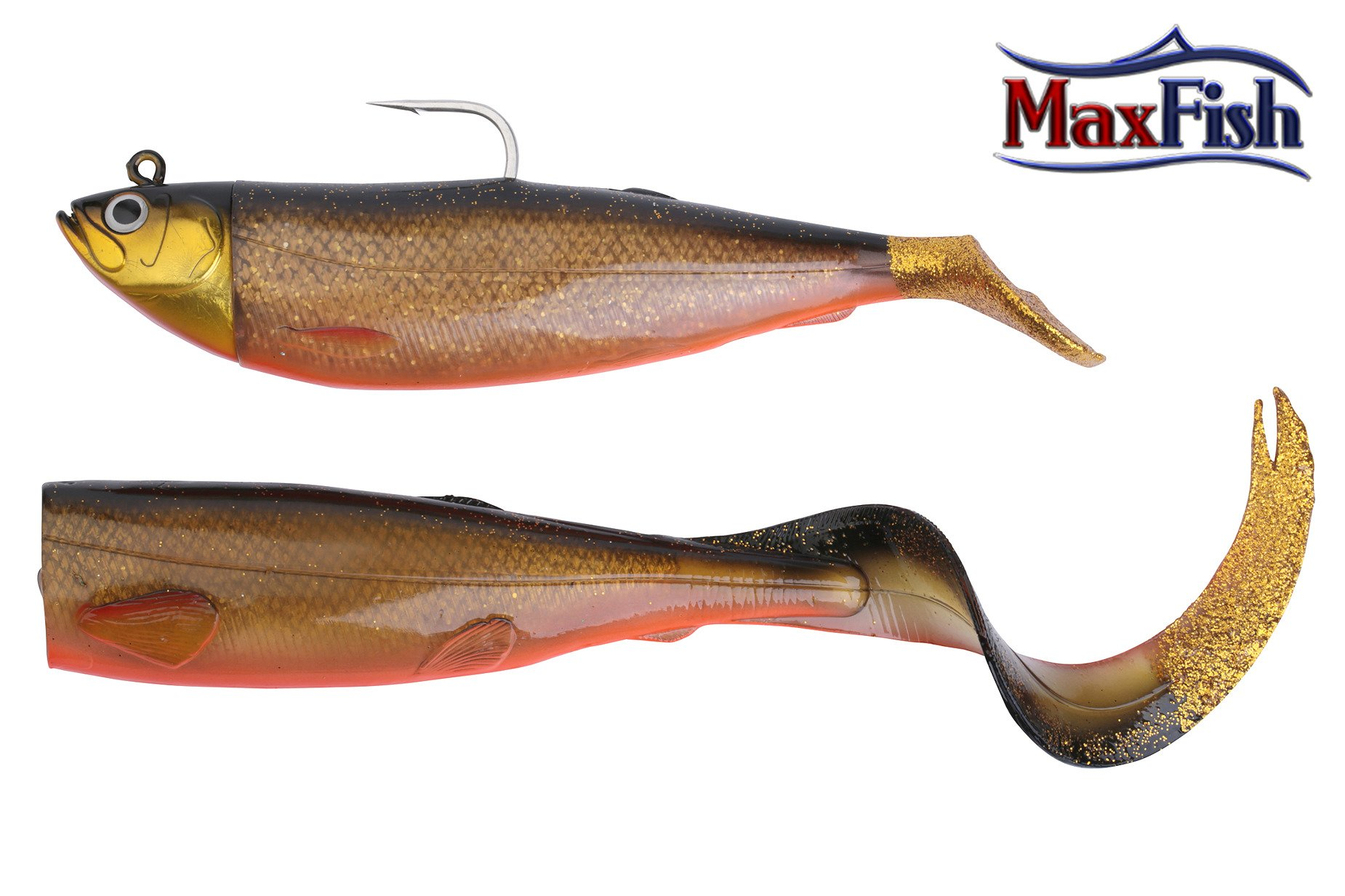 Savage Gear Cutbait Herring zestaw - Red Fish 20cm 270g