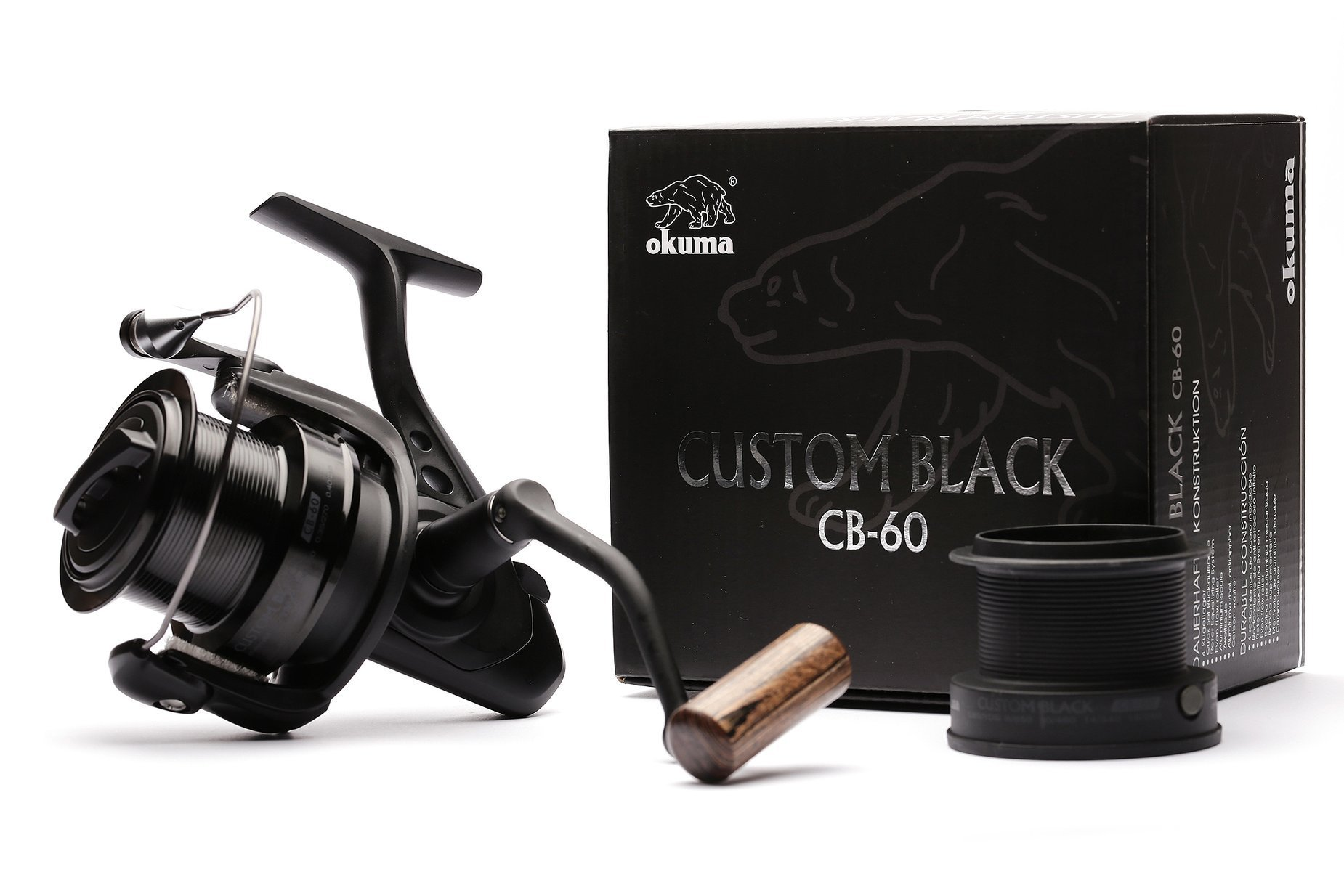 Okuma Custom Black Cb 80