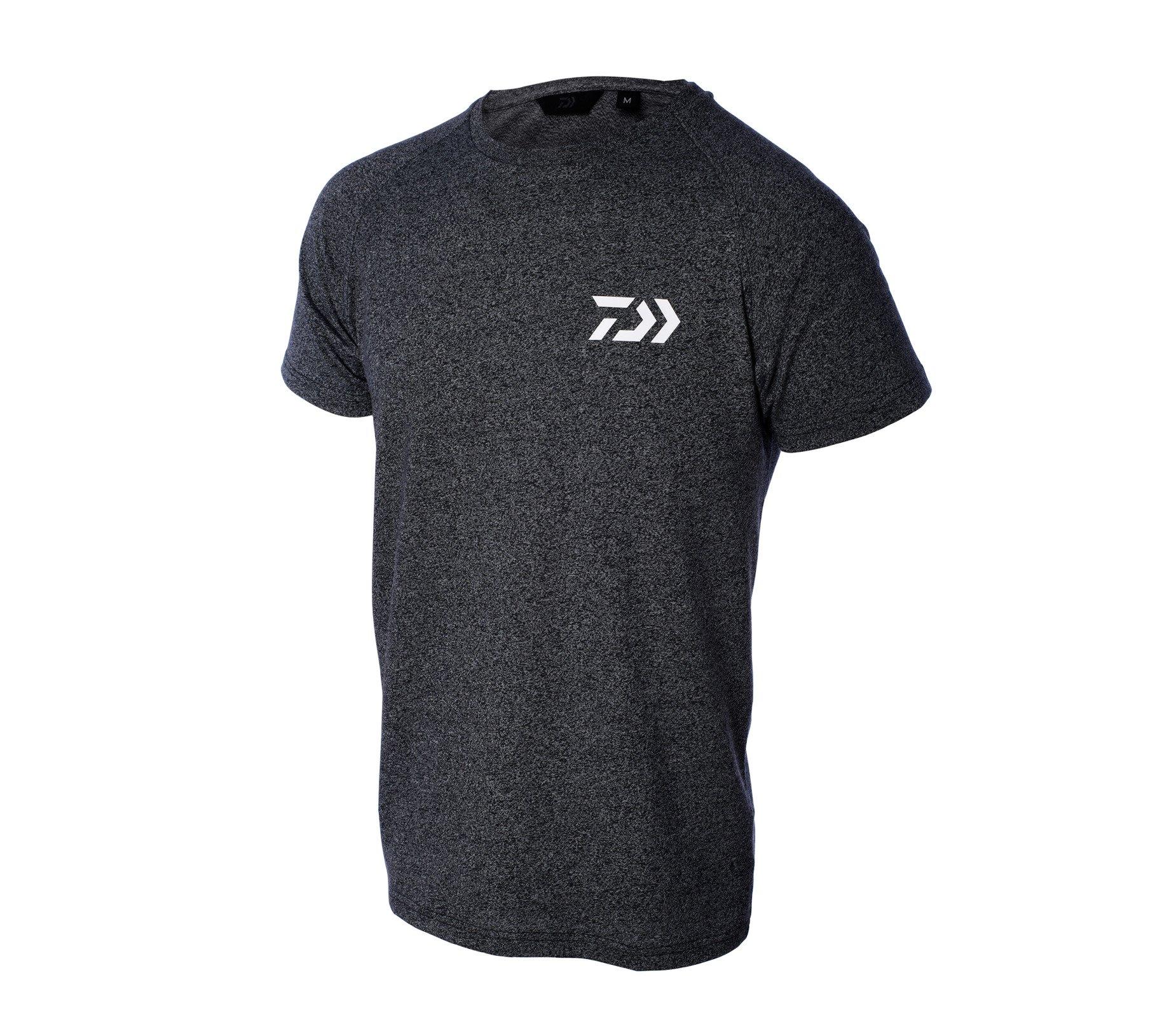 Daiwa T-shirt Grey W Dvec rozm. M