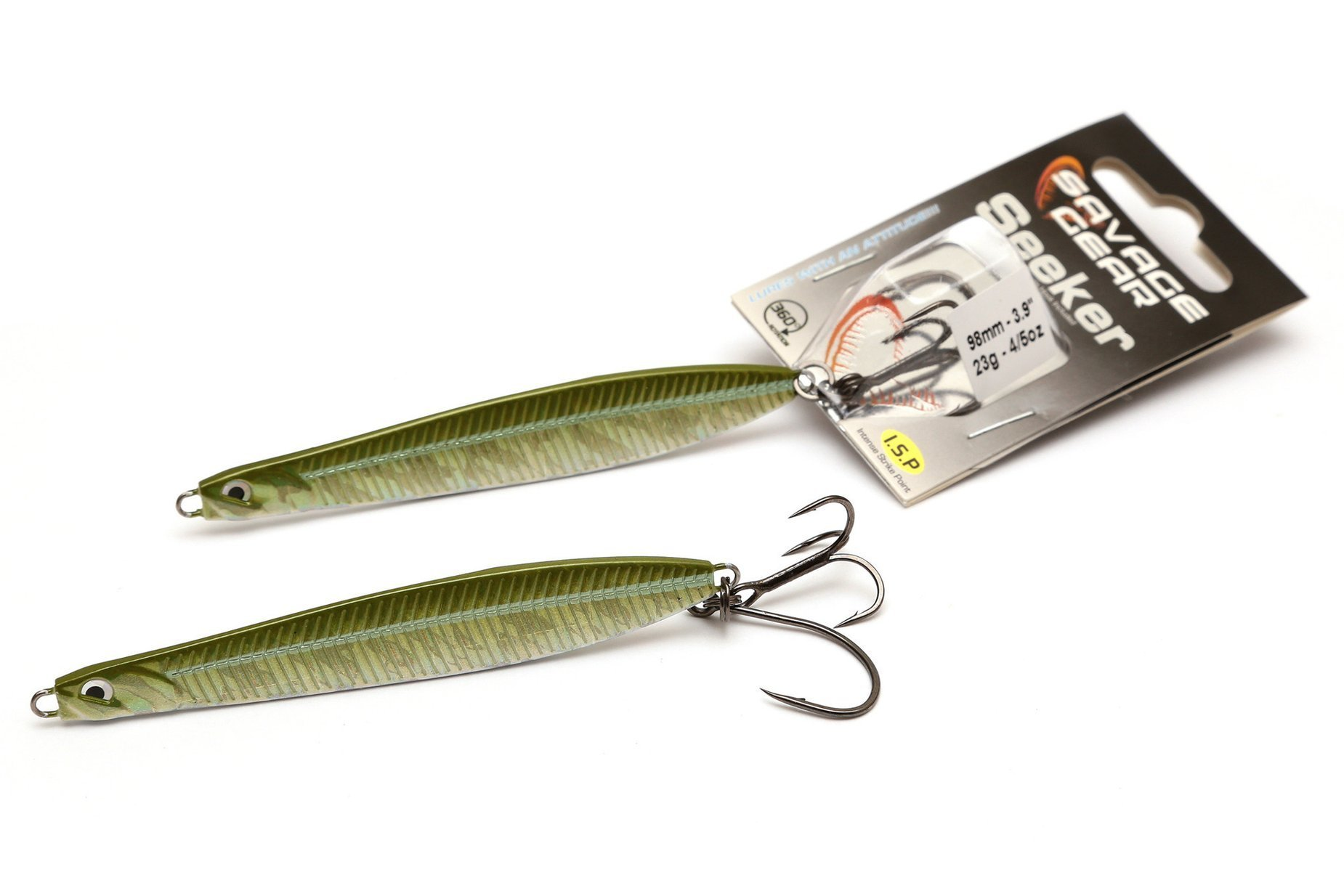 Savage Gear Seeker Isp - Green Silver 6.8cm 28g