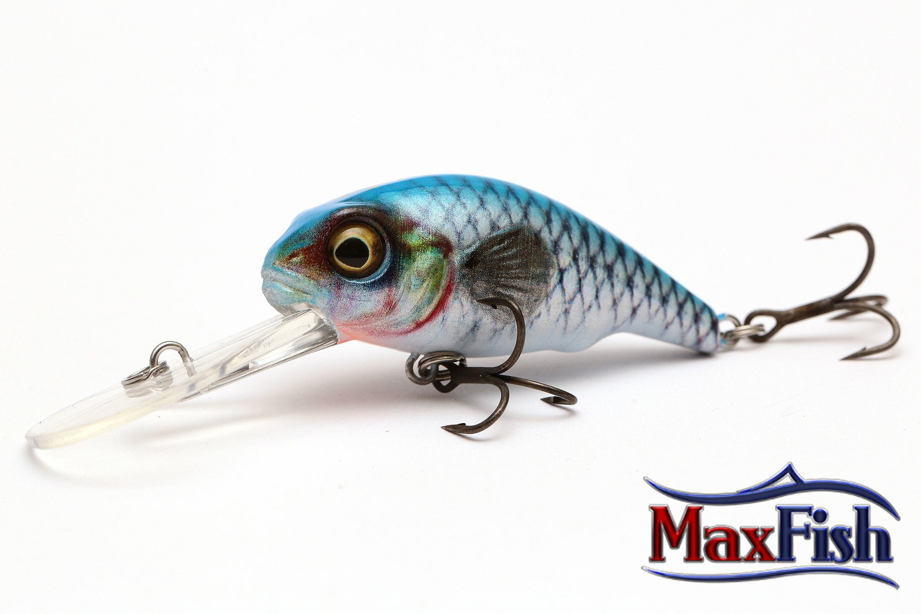 Savage Gear 3d Goby Crank - Blue Silver 5.0cm 7.0g