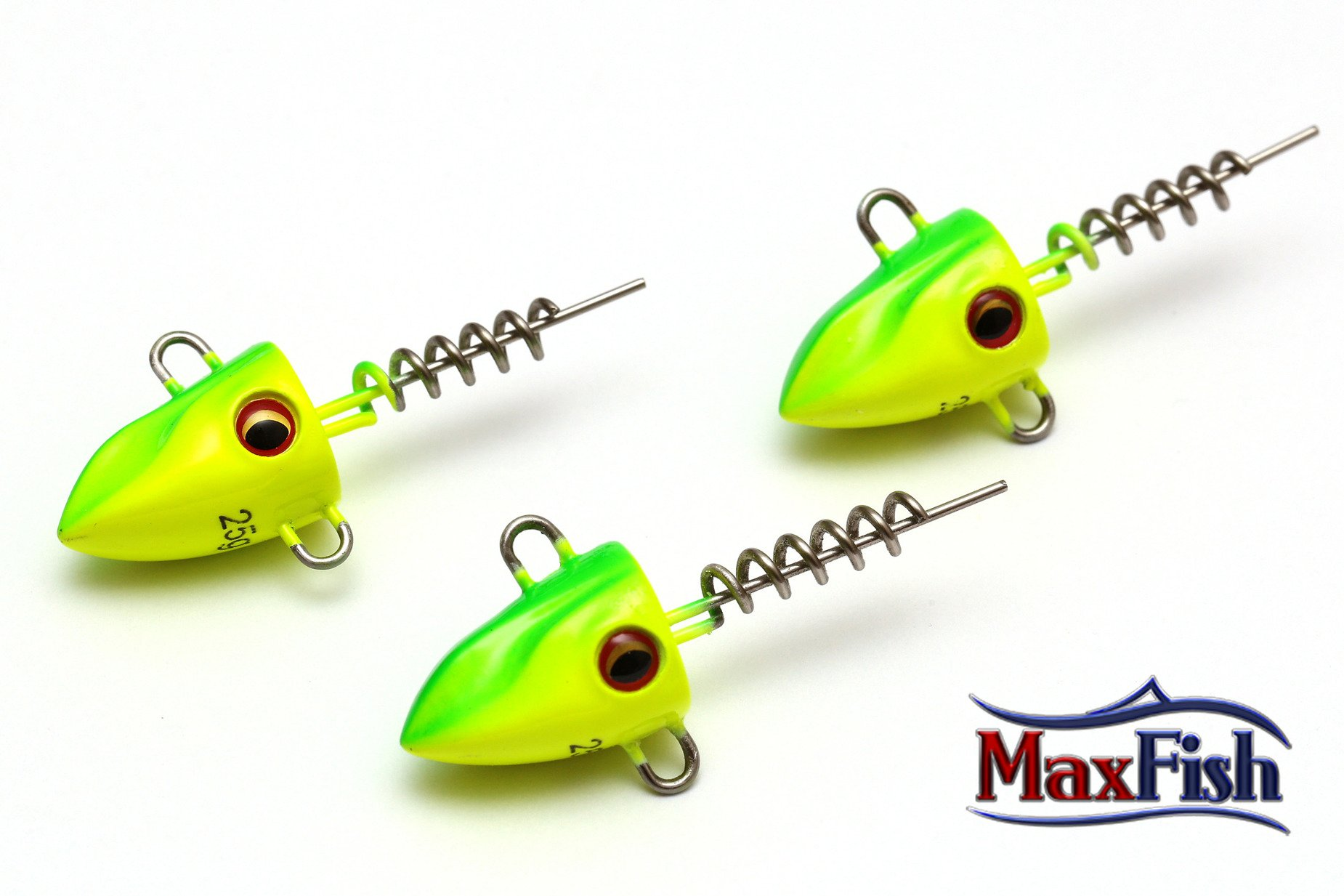 Daiwa G³ówki Prorex Screw-in Pelagic - Chartreuse 20g