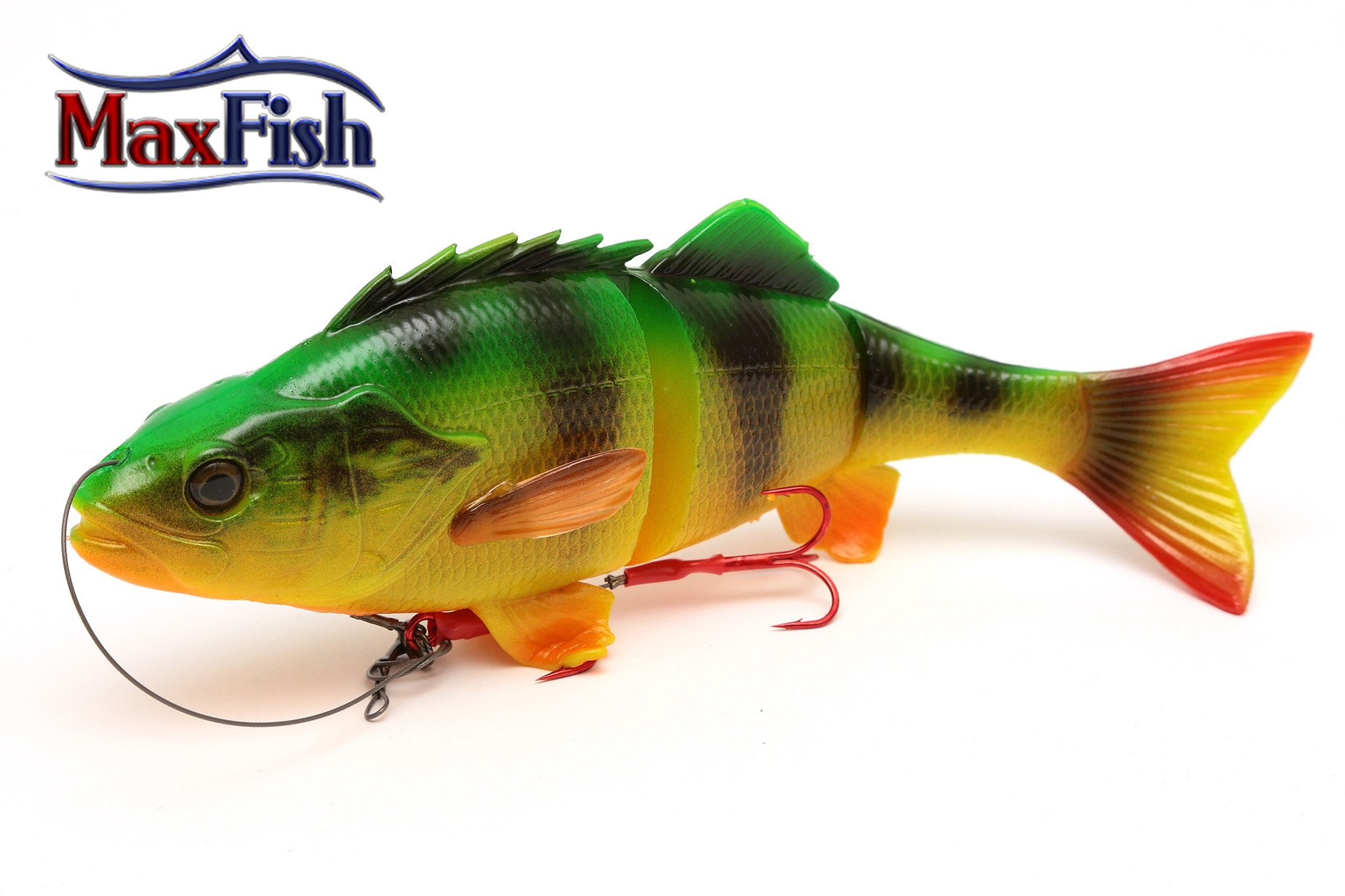 Savage Gear 4D Line Thru Perch - Firetiger 17cm 63g