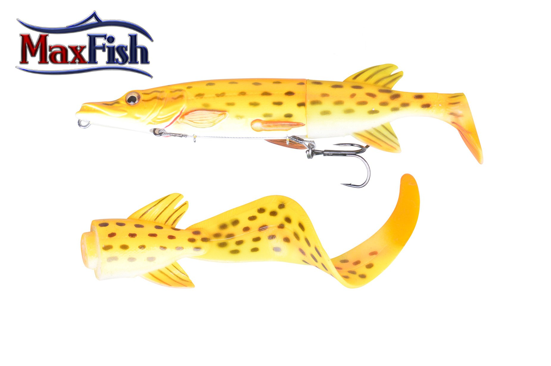 Savage Gear 3D Hybride Pike - 17cm 45g Albino