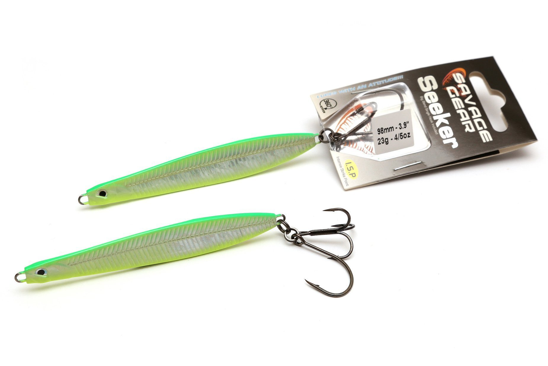 Savage Gear Seeker Isp - Fluo Uv Green Yellow 8.7cm 16g