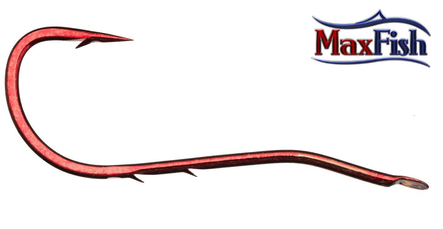 Daiwa Samurai - haczyk z przyponem worm rozm. 1