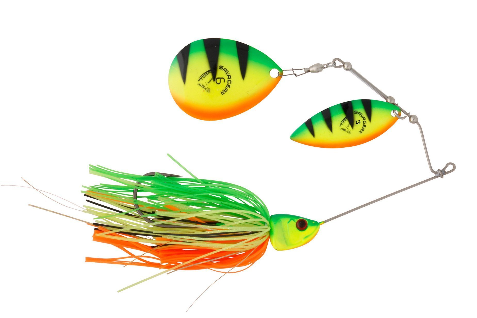 Savage Gear Da Bush Spinnerbait - Firetiger 16cm 32g