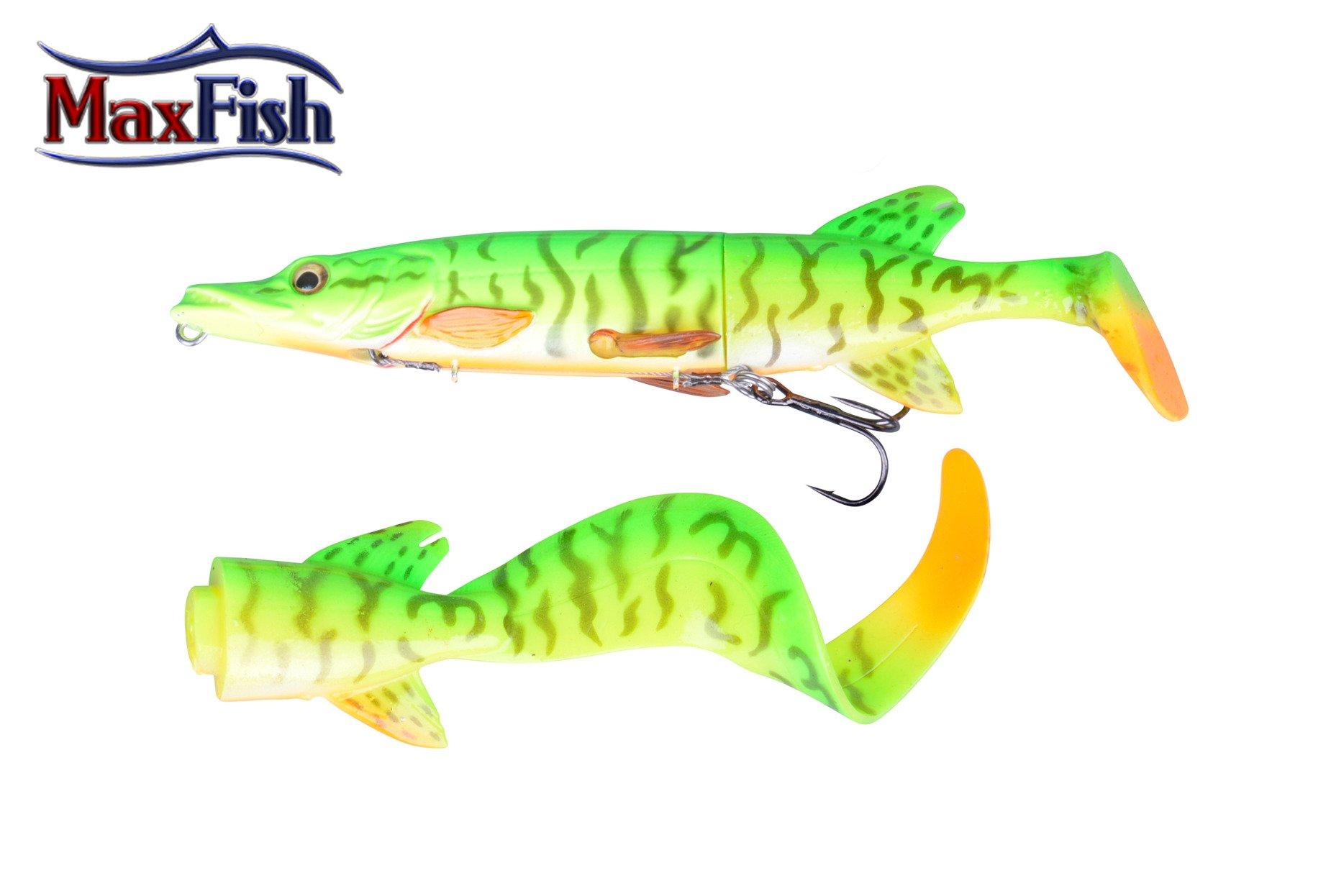 Savage Gear 3D Hybride Pike - 17cm 45g  Firetiger