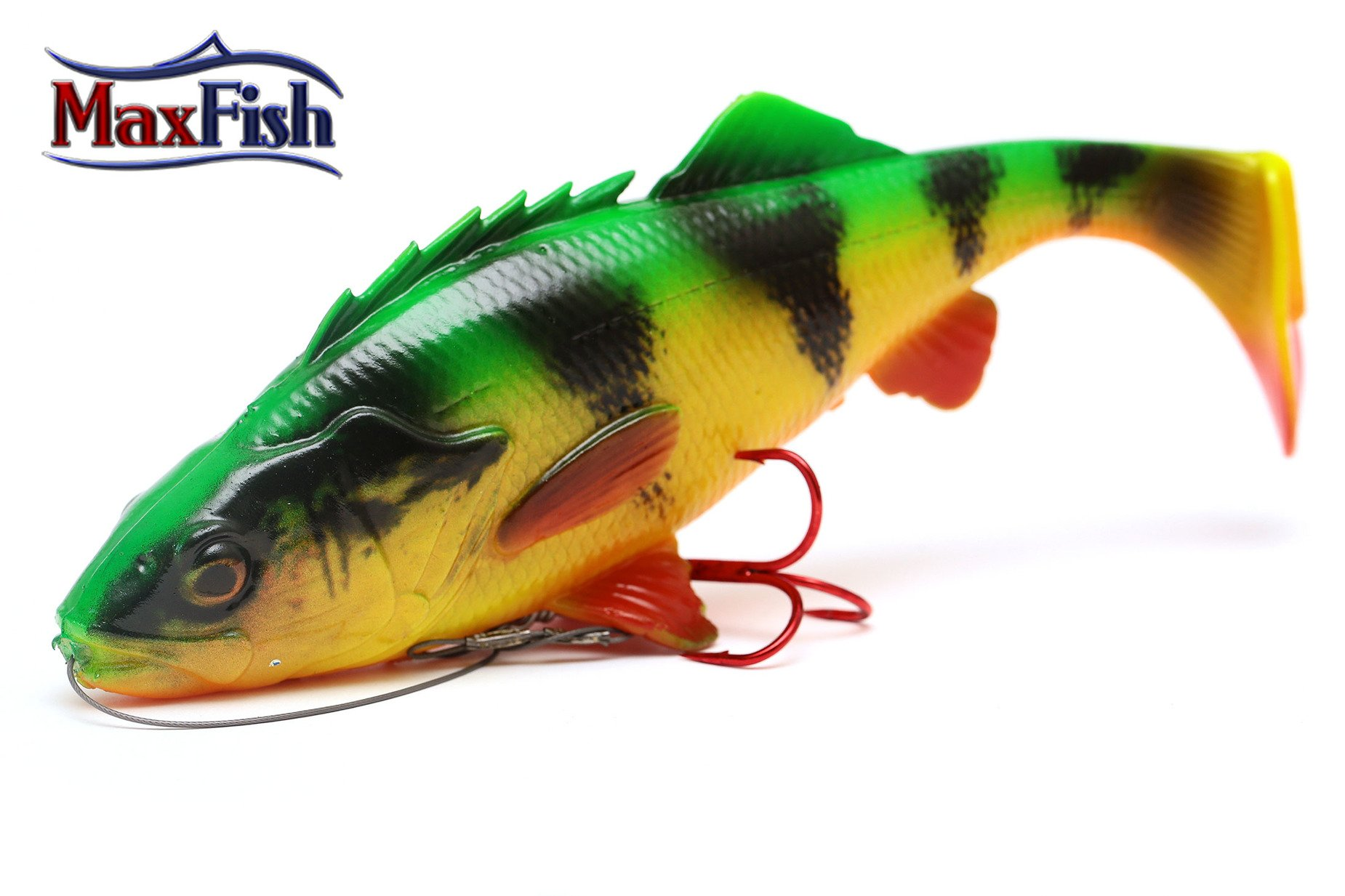 Savage Gear 4D Perch Shad - Firetiger 12.5cm 25g