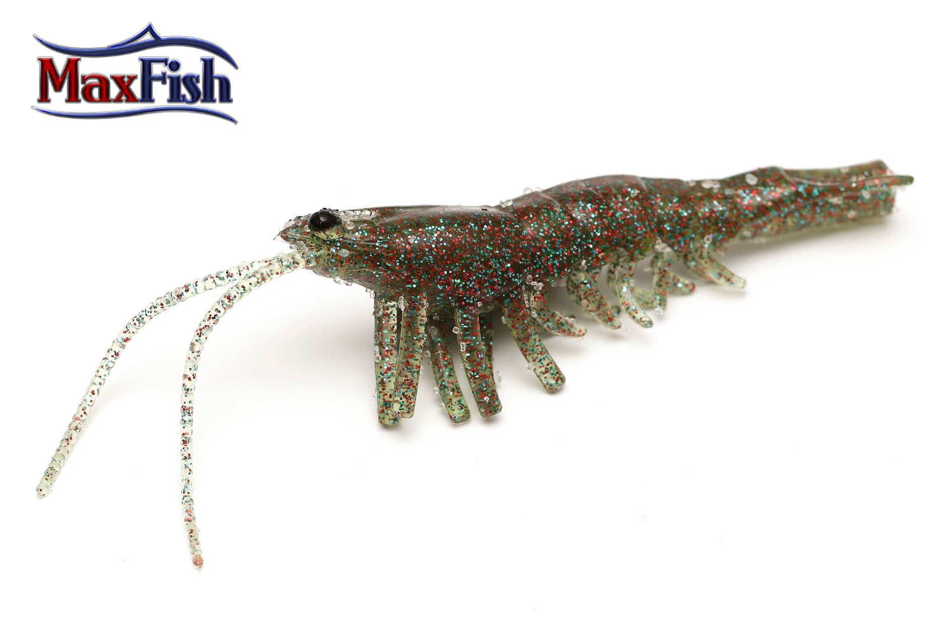 Savage Gear 3D Manic Shrimp - 6.6cm  Magic Brown