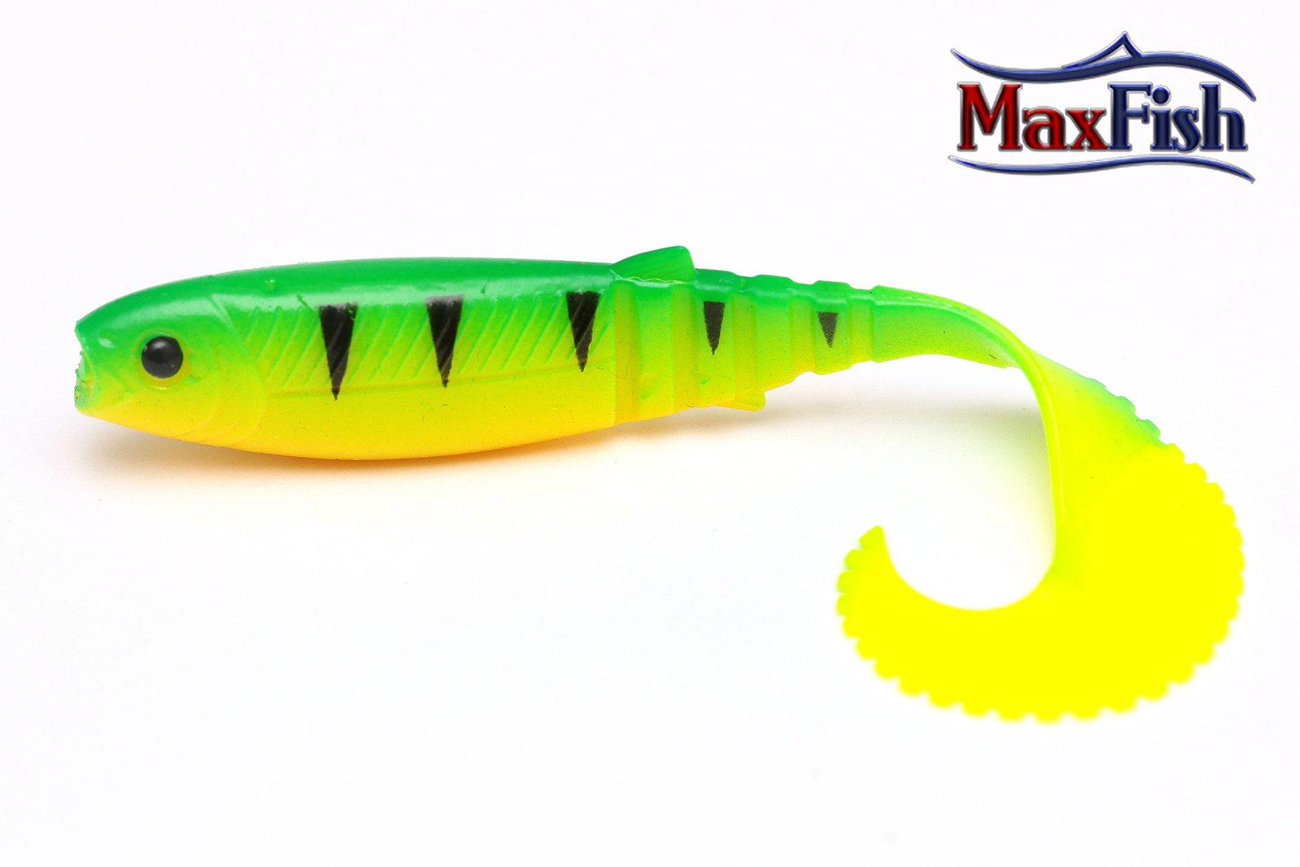Savage Gear Cannibal Curl Tail - Firetiger 10.0cm 5.0g