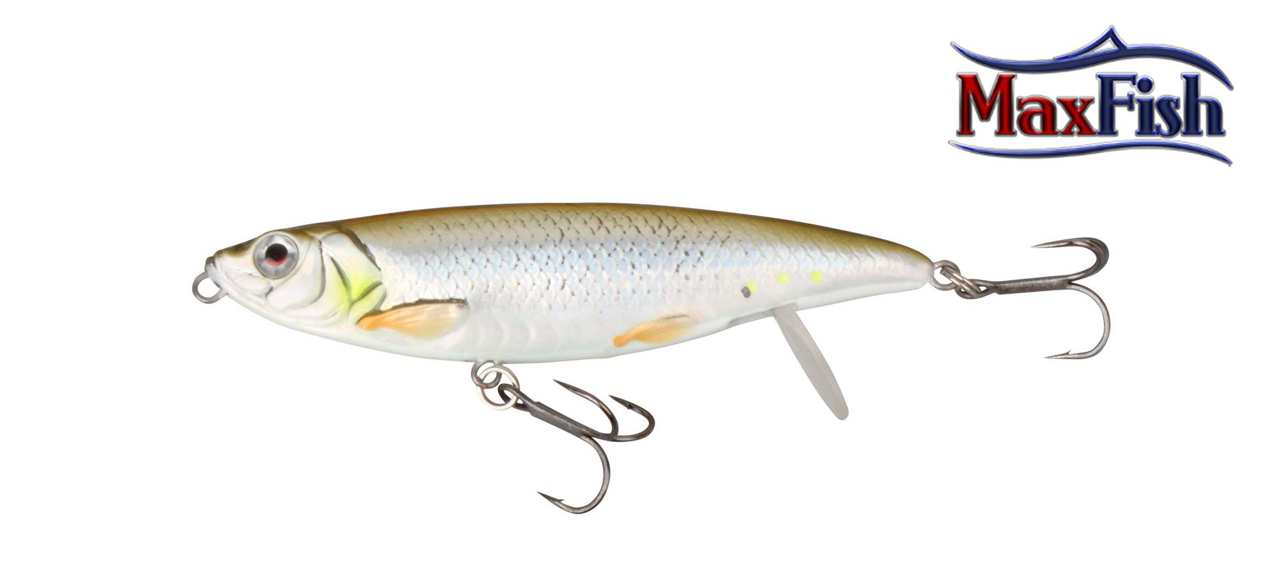 Savage Gear 3D Backlip Herring - Green Silver 10cm 17g