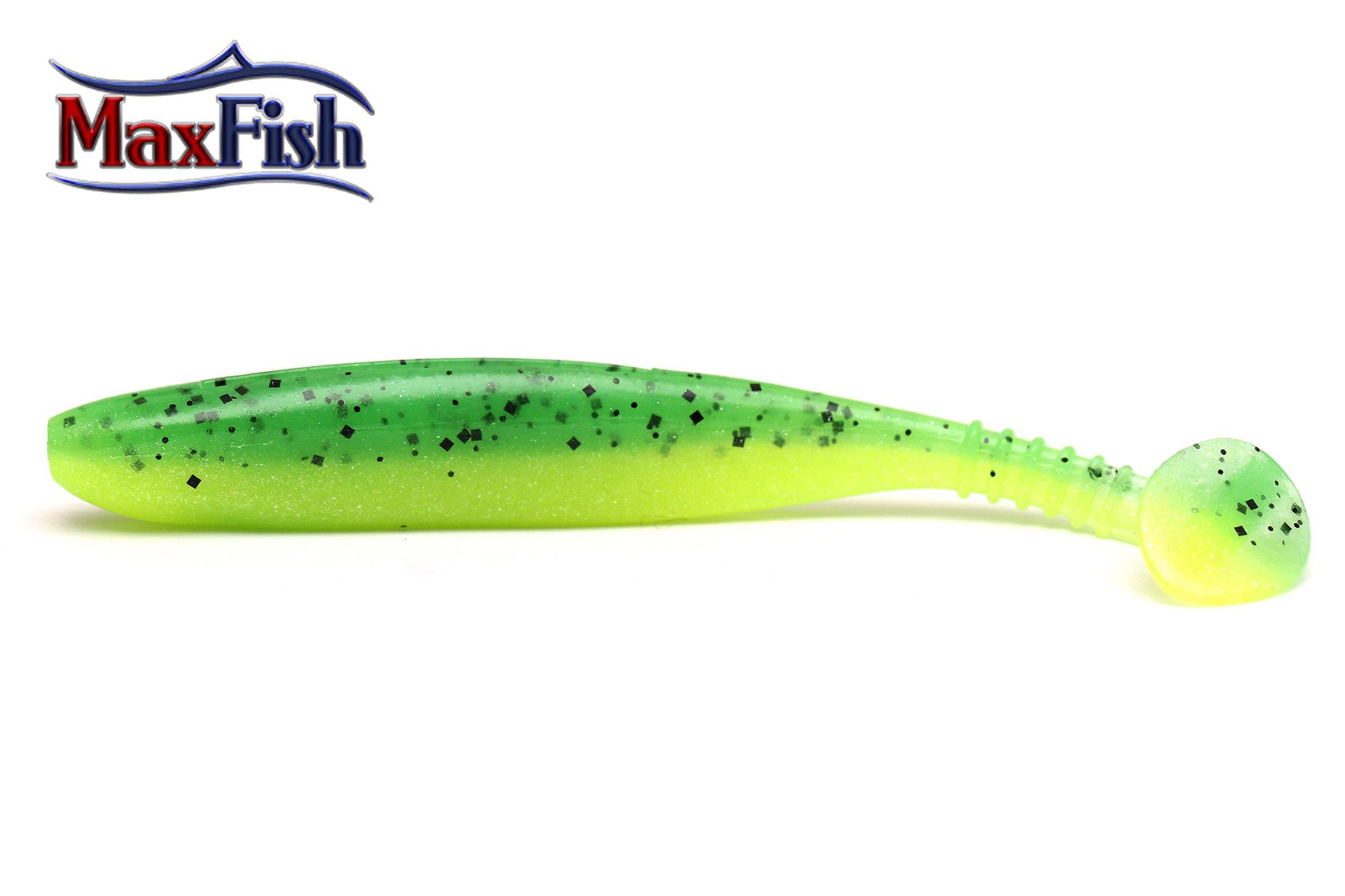 Daiwa Tournament Dfin - uv chartreuse tiger 7.5cm